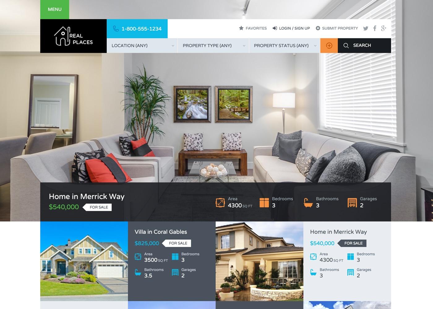 Real Estate, Web Design, Website Design, Real Estate Websites, Lusaka, Zambia